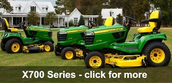 John Deere X700 Signature Series Ride-On Mower